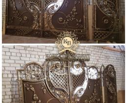 Кованые ворота в Воронеже №177