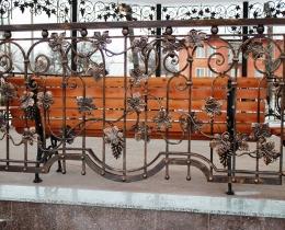 Кованые заборы в Воронеже №163