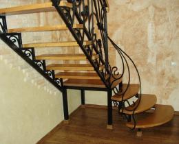 Кованые лестницы в Воронеже №9
