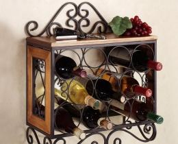 Кованые винницы, подставки под вино №48
