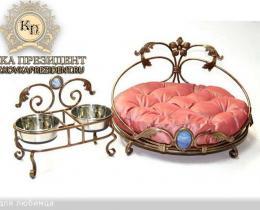 Кованая мебель для питомцев №47