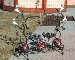 Кованые цветы в Воронеже №107
