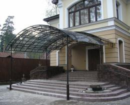 Кованые навесы Воронеж №24
