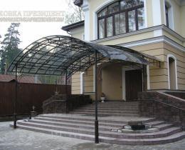 Кованые навесы Воронеж №65