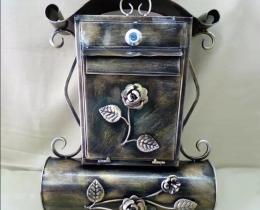 Кованые таблички, вывески, почтовые ящики №137