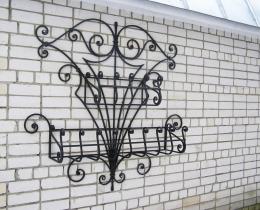 Кованые цветочницы в Воронеже №149