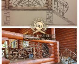 Кованые балконы №137