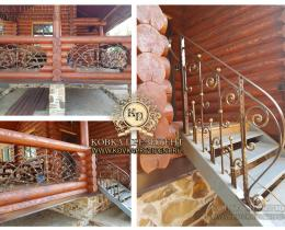 Кованые балконы №139