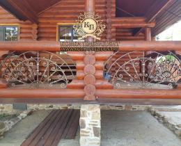 Кованые балконы №142