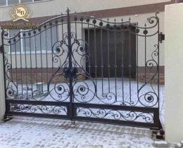 Кованые ворота в Воронеже №148