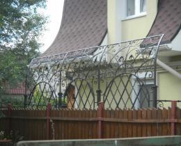 Кованые арки в Воронеже №79