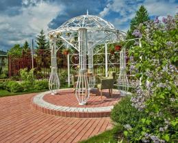 Кованые арки в Воронеже №76