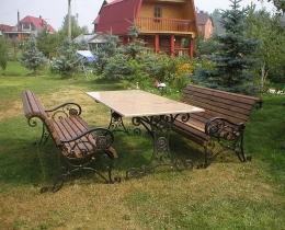 Кованые столы в Воронеже №132