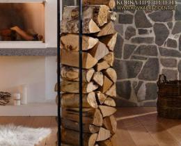 Кованые каминные наборы, дровницы, решетки №53