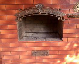 Кованые каминные наборы, дровницы, решетки №51