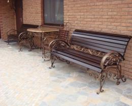 Кованые скамейки в Воронеже №39