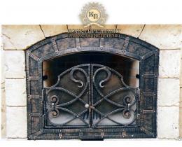 Кованые каминные наборы, дровницы, решетки №45