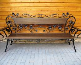 Кованые скамейки в Воронеже №36