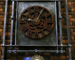 Кованые часы в Воронеже №29