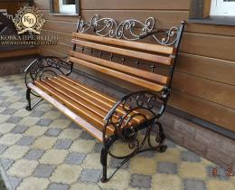 Кованые скамейки в Воронеже №57
