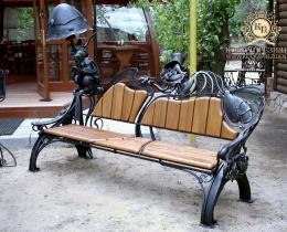 Кованые скамейки в Воронеже №69