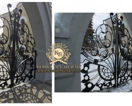 Кованые ворота в Воронеже №161