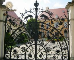 Кованые ворота в Воронеже №165