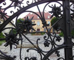 Кованые ворота в Воронеже №166
