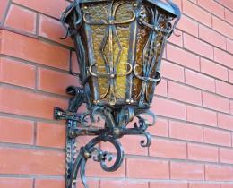 Кованые фонари в Воронеже №7