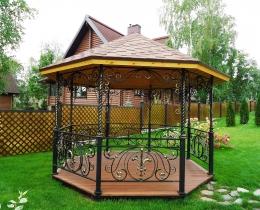 Кованые беседки в Воронеже №148