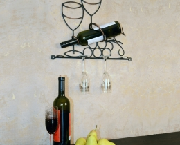 Кованые винницы, подставки под вино №58