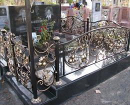 Кованые ритуальные изделия в Воронеже №3
