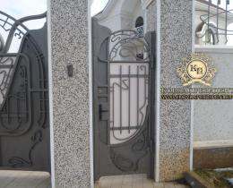 Кованые ворота в Воронеже №7