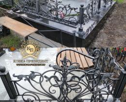 Кованые ограды в Воронеже №2