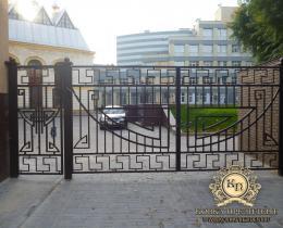 Кованые ворота в Воронеже №36