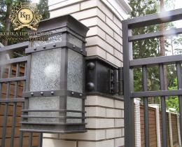 Кованые ворота в Воронеже №34