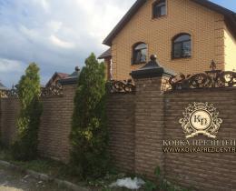 Кованые заборы в Воронеже №29