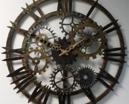 Кованые часы в Воронеже №24