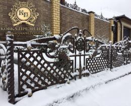 Кованые ограждения в Воронеже №22