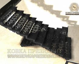 Кованые лестницы в Воронеже №11