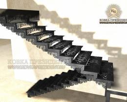 Кованые лестницы в Воронеже №12