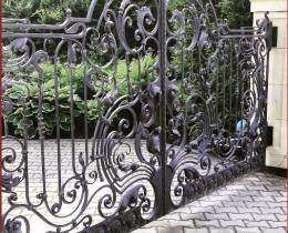 Кованые ворота в Воронеже №134