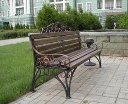 Кованые скамейки в Воронеже №77
