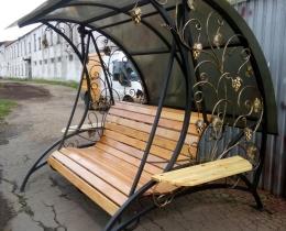 Кованые качели в Воронеже №173