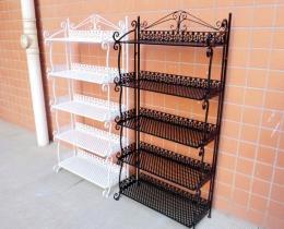 Кованые этажерки, стеллажи, консоли №44