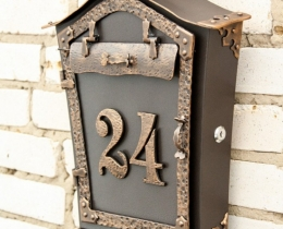 Кованые таблички, вывески, почтовые ящики №147