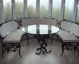 Кованые диваны в Воронеже №70