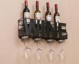 Кованые винницы, подставки под вино №65