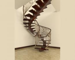 Кованые лестницы в Воронеже №98
