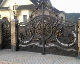 Кованые ворота в Воронеже №47